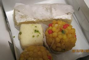 インドのお菓子!