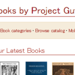 Project Gutenberg  ; offers over 50,000 free ebooks